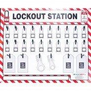 Lockout Safety Lockout Station