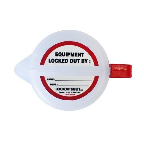 Lockout Safety Mushroom Push Button Lockout