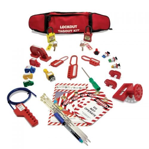 Lockout Safety Personal Electrical Lockout Kit (Pouch)