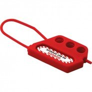 Lockout Safety Plastic Lockout Hasp 3 Holes, 45 mm clearance
