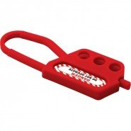 Lockout Safety Plastic Lockout Hasp 6 Holes, 80 mm clearance