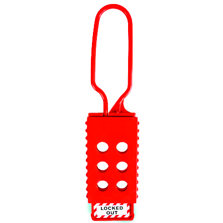 Lockout Safety Plastic Lockout Hasp 6 Holes