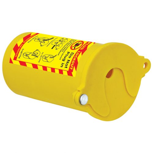 Lockout Safety Round Electrical Plug Lockout – Universal