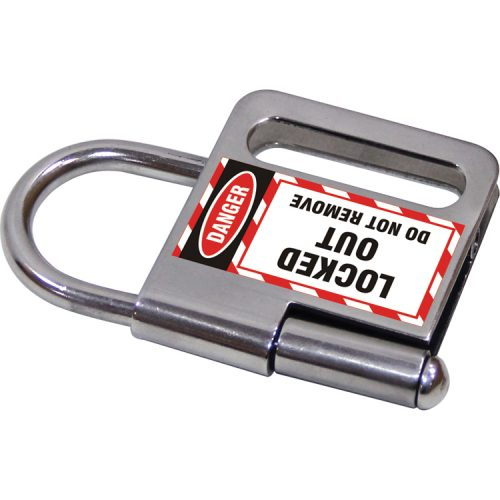 Lockout Safety Stainless Steel Hasp