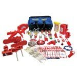 Lockout Safety Valve and Electrical Lockout Kit - Large