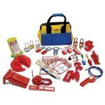 Lockout Safety Valve and Electrical Lockout Kit - Small
