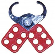 Lockout Safety Vinyl Coated Hasp (25mm diameter)