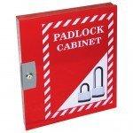 Lockout Safety Padlock Cabinet