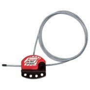 Master Lock Adjustable Cable Lockout (from 1.83 m up to 15 m)