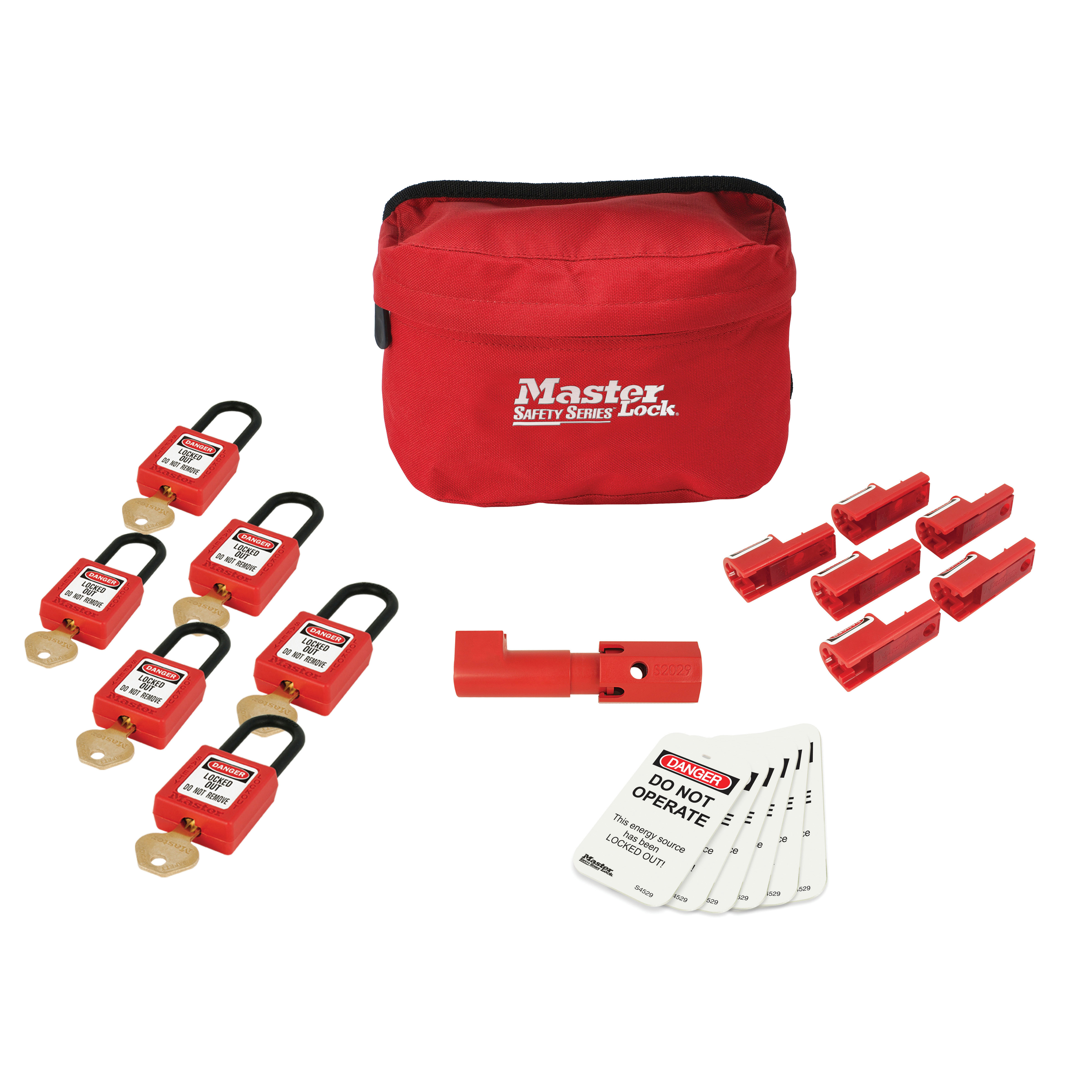 Master Lock Compact Aircraft Lockout Kit (410 Lock / 406 Lock)
