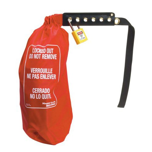 Master Lock Lockout Bag (Plug & Hoist Control Cover)