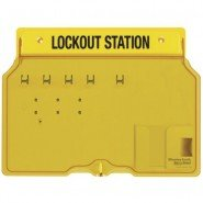 Master Lock 1482B Lockout Station (4 padlocks)