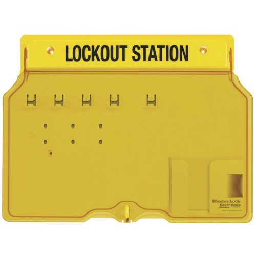 Master Lock Lockout Station - 1482B|Master Lock Lockout Station|Master Lock Lockout Station