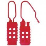 Master Lock Plastic Lockout Hasp, 6 Holes (25mm * 63 mm)