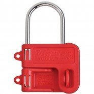 Master Lock Steel Lockout Hasp, 2 Padlocks (25mm diameter)