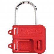 Master Lock Steel Lockout Hasp, 2 Padlocks (25mm diameter)