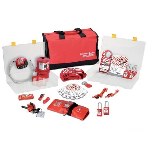 Master Lock Valve And Electrical Lockout Kit (Toolbox Large)