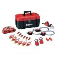 Master Lock Valve and Electrical Lockout Kit