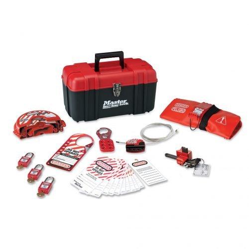 Master Lock Valve Lockout Kit (Toolbox)