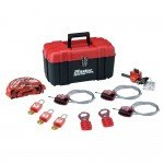 Master Lock Personal Valve Lockout Kit (Toolbox)