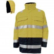 BSD SHINE ARC FLASH PARKA JACKET AND HOOD – CLASS 2 (318 KJ)