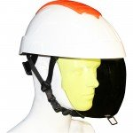 E-MAN Helmet & Retractable Integrated Visor  - CLASS 2