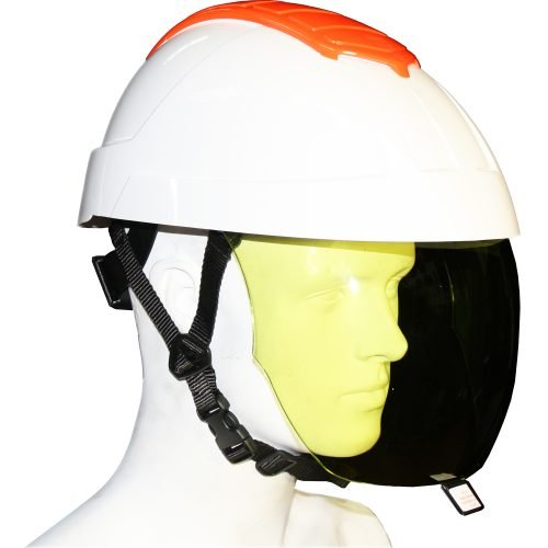 E-MAN Helmet & Retractable Integrated Visor