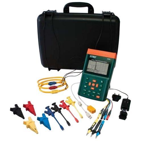 Extech 3-Phase Power & Harmonics Analyzer