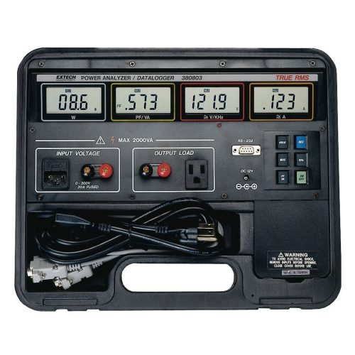 Extech 380801 Single Phase Power Analyzer