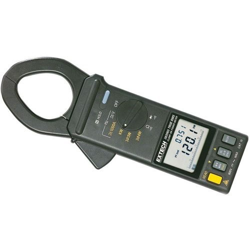 Extech 382068 AC DC Clamp-on Power Datalogger (1000A)
