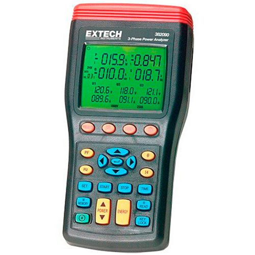 Extech 382091 3-Phase Power Analyzer Datalogger (50 Hz