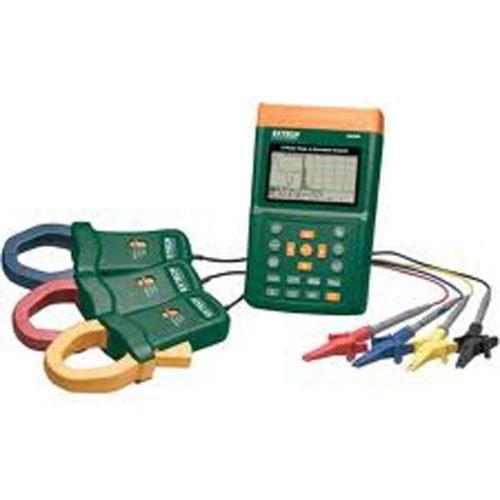 Extech 382096 3-Phase Power & Harmonics Analyzer (220V