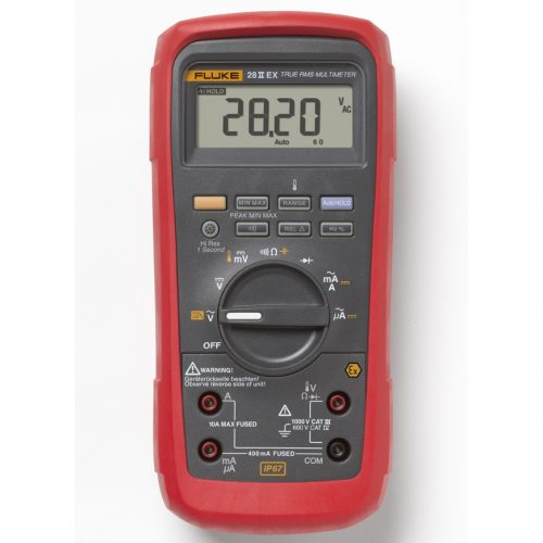 Fluke 28 II Ex Intrinsically Safe True-rms Digital Multimeter - FLUKE 28 II EX