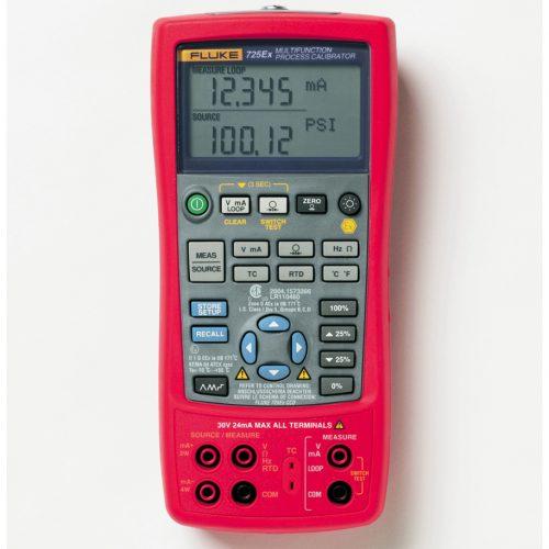 Fluke 725Ex Intrinsically Safe Multifunction Process Calibrator - FLUKE 725EX