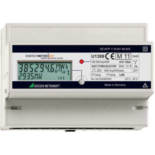 Gossen Metrawatt U1389 Energy Meter (MID Approved)|Gossen Metrawatt U1389 Energy Meter Accessories|Gossen Metrawatt U1389 Energy Meter Accessories