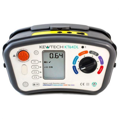 Kewtech Multifunction Tester - KT64DL