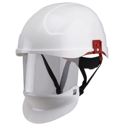 Substation Safety Class 1 Arc Flash Helmet & Retractable Integrated Visor