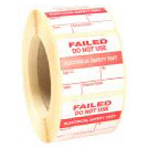 WM Seal FAIL Labels