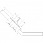 SIMAFLEX 45° angle Flat Clamp
