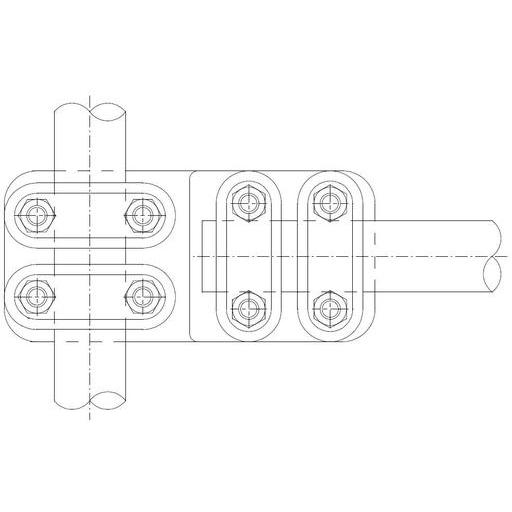 SIMAFLEX 90° Angle Clamp/T-clamp