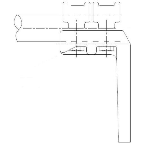 SIMAFLEX 90° Angle Flat Clamp