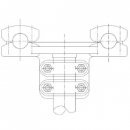 SIMAFLEX 90° angle Fork Clamp