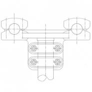 SIMAFLEX Double T-Clamp