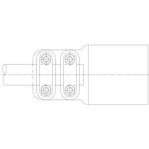 SIMAFLEX Straight Flat Clamp