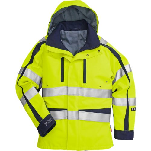 FRISTADS GORE-TEX Jacket cl 3 4089 GXH Hi-Vis Yellow/Navy - Class 2