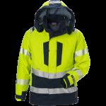 FRISTADS Gore-Tex Flamestat Jacket Hi-Vis cl 3 4095 GXE Yellow/Navy – Class 2, 49.1 cal/cm²