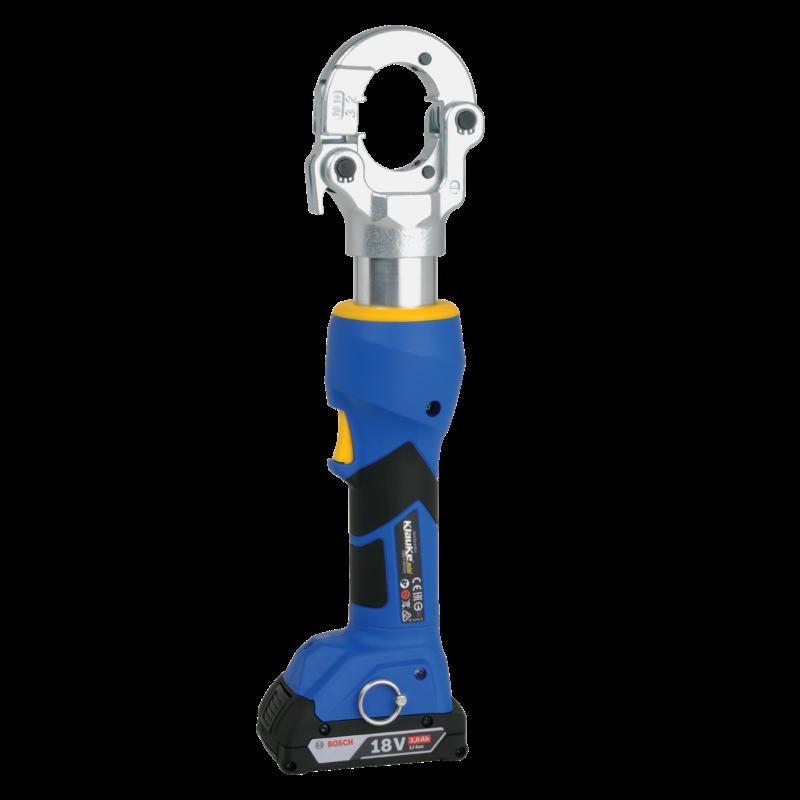Klauke EKM 60/22 Battery Powered Hydraulic Crimping Tool