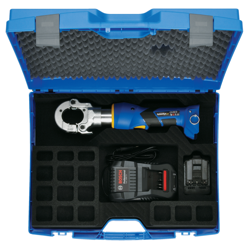 Klauke EKM 60/22 Battery Powered Hydraulic Crimping Tool Gallery Image