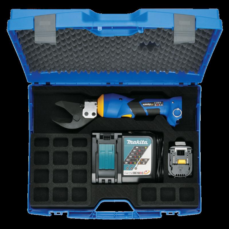 Klauke ES 32 Battery Powered Hydraulic Cutting Tool Gallery Image