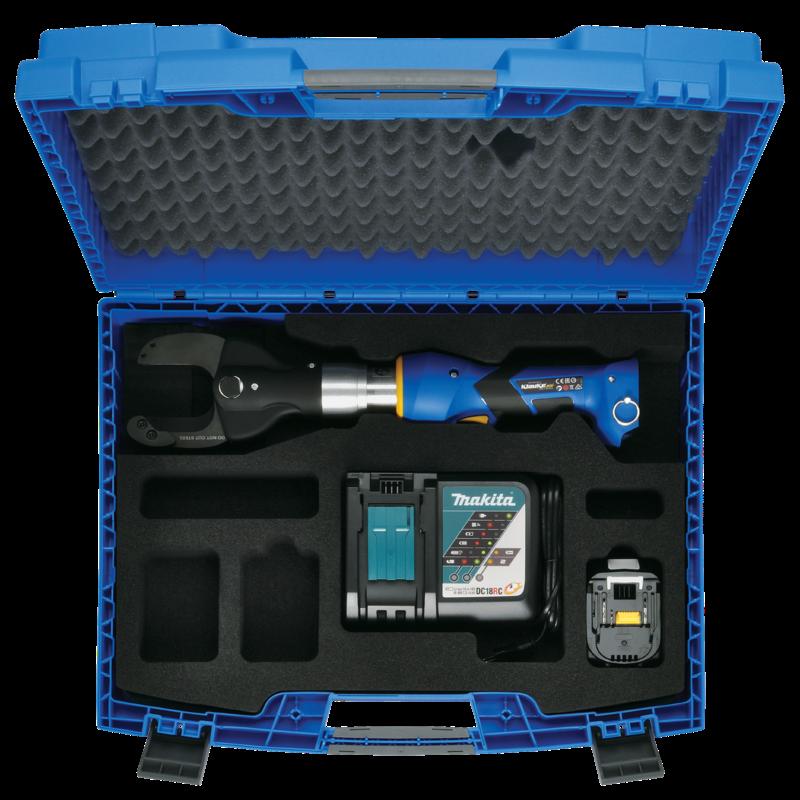 Klauke ESM 59 Battery Powered Hydraulic Cutting Tool Gallery Image